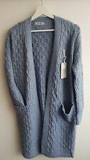 NEW Women Knitted Cardigan Open Coat Chunky Winter Sweater Jacket Jumper size L