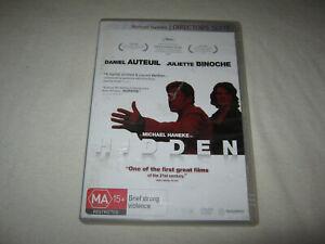 Hidden - Daniel Auteuil - 2 Disc Directors Suite - VGC - DVD - R4