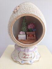 $84 Lenox Peaceful Moments Egg Tea Time Christmas Tree 24 Karat Gold Collectible
