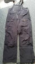 Grundens Dark and Stormy Sport Fishing Bib Pants Black  X-Large
