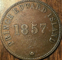 1857 PEI SELF GOVERNMENT AND FREE TRADE HALFPENNY TOKEN - Coinage die axis