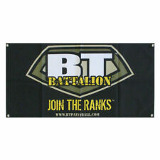 "Empire Paintball - Bt Battalion ""Join The Ranks"" Promo Dealer Store Cloth Banner"