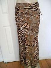 Women Summer long Maxi Skirt Fold Over High Waist Full Length Beach Dress Skirt