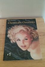 Olivia's Cheesecake Chronicles by Olivia De Beradinis (2000, Paperback)
