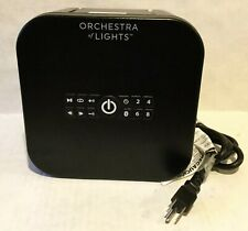Gemmy Orchestra of Lights Christmas Songs Carols Outside Light Projector 112904