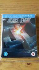 Justice League Steelbook DVDs & Blu-rays