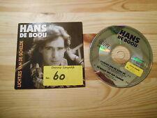 CD Schlager Hans De Booij - Lichtjes Van De Schelde (2 Song) DINO MUSIC
