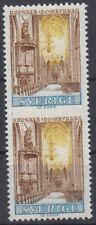 Probedruck Test Stamp Uppsala Dom 1968 Slania
