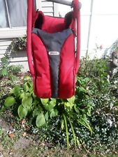 Phil&Teds Baby Carrycot Cocoon Carrier Bed Red Black