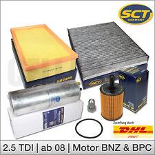 VW T5 Transporter 2.5 TDI 130PS BNZ 174PS BPC | Inspektionspaket Filtersatz SCT