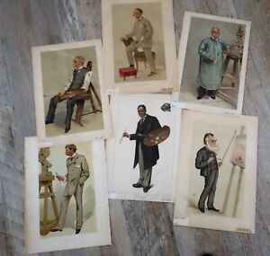 lot of  6 Original Vanity Fair Prints