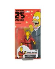 THE SIMPSONS figure HUGH HEFNER Homer Maggie Marge mansion Playboy bunny rabbit