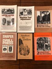 Lindsay Publications - 6 books - Drill Press, Machinist, Lathe