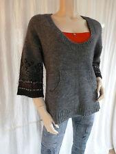 Marc O'Polo 3/4 Arm Damen-Pullover & -Strickware mit Rundhals-Ausschnitt