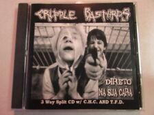 CRIPPLE BASTARDS CHC TFD 3 WAY SPLIT 44 TRACK 2003 CD HTF OOP GRINDCORE HARDCORE