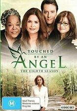 TOUCHED BY AN ANGEL - SEASON 8 - DVD - Region 2 UK Compatible - sealed