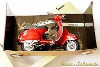 """VESPA Original PIAGGIO Modell """"P200E"""" - Rot - 1:12 - PX 200 alt Lusso"""