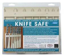 """RV 7 Top Knife Safe Storage Organizer Trailer Camper Kitchen Cabinet 9x11"""" Beige"""