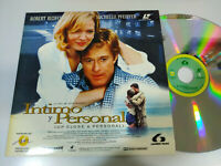 Intimo y Personal Michelle Pfeiffer Robert Redford - Laserdisc LD ESPAÑOL