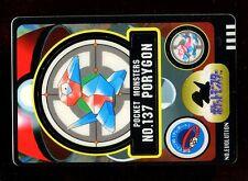 POKEMON BANDAI 1998 N° 137 PORYGON