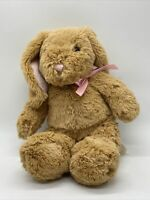 Build a Bear BAB Pawlette Bunny Rabbit Plush Tan Floppy Retired Swirl Easter