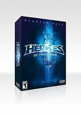 Brand New Sealed Heroes of the Storm Starter Pack (PC/Mac DVD)