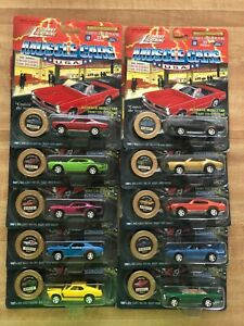 Johnny Lightning Muscle Cars USA Set of 10 cars Series 2 Limited Edition