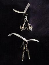 Modeschmuck-Ohrschmuck im Hänger-Stil aus Legierung mit Fantasie und Durchzieher