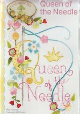 PATTERN -  Queen of the Needle - beautiful stitchery Design - Crabapple Hill