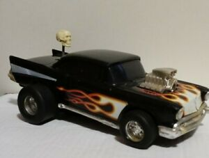 1985 MATCHBOX SKULL SHIFTER 1957 Chevrolet ( 57 Chevy ) Battery Operated