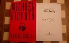 Trading Reality SIGNED Michael Ridpath Hardback 1996 1st edition 1st impression