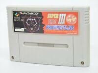 Super Famicom SUPER FIRE PROWRESTLING 3 III Easy Type Cartridge Nintendo sfc