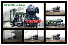 THE FLYING SCOTSMAN - SOUVENIR NOVELTY FRIDGE MAGNET - BRAND NEW - GIFT