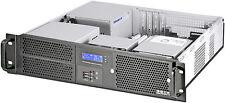"2U LCD 400W(MicroATX/ITX)(2x5.25""+2xHDD Bay)(Rackmount Chassis)(D14.96"" Case)NEW"