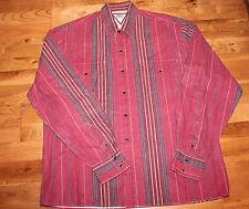 Cowboys' Turtle by Roper Western Men's Black Pearl Snap Shirt - size MED