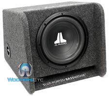 "JL AUDIO CP110-W0V3 10"" SUB 10W0V3-4 PORTED ENCLOSURE SUBWOOFER SPEAKER BASS BOX"