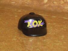 Playmobil XOX Black Baseball Cap Hat Tall Classic Toy