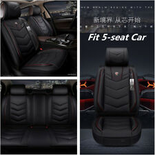 6D Leather Standard 5-Car Seat Covers Cars Cushion Auto Accessories Car-Styling