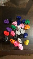 Multi Color Mini Small (cauotchouc) Hair Clips Claws Clamps Hair Accessories