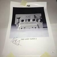 NAS Signed LOST TAPES II 18x24 Poster Autograph JSA COA Musician RAPPER