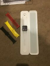 Apple Watch 2 Gen 42mm Space Gray Aluminum with 3 extra Bands