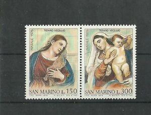 San Marino 1976 Xmas  MNH