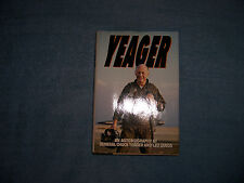 YEAGER by General Chuck Yeager and Leo Janos/1st Edition/Nonfiction/Biography
