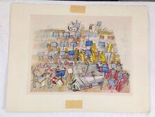Raoul Dufy (1877-1953) ORCHESTRA Color Lithograph