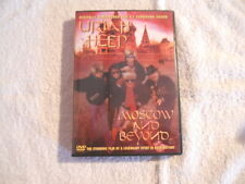 """Uriah Heep """"Moscow and Beyond"""" 2002 DVD Classic Legends 1987 Live $"""
