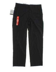 Greg Norman Men's Technical Performance Golf Pants - Black - Size W32 x L30