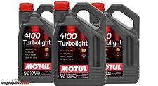 Aceite motor Motul 4100 Turbolight 10w40 15 litros
