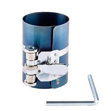 "Large Ratcheting Piston Ring Compressor Professional Mechanics 2 1/8"" to 7"" New"