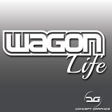 Wagon Life Touring Funny Car Window/Bumper Vinyl Decal Sticker JDM Euro DUB