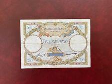 Billet France 50 francs LOM Type 1927 Modifié   19.01.1933  Très Bel Exemplaire
